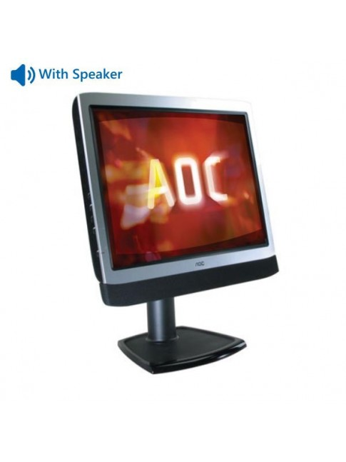"Used Monitor LM729 TFT/AOC /17""/1280 x 1024/Silver/Black/"