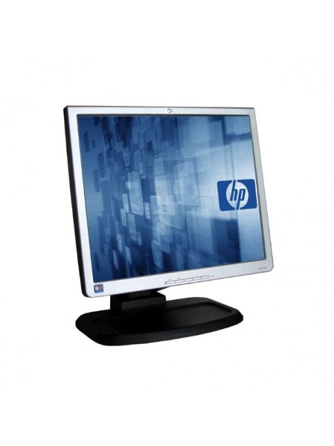 "Used Monitor 1740 TFT/HP/17""/1280 x 1024/Silver/Black"